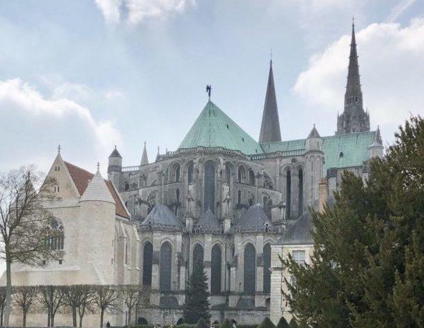 cathedrale de chartres veloscenie