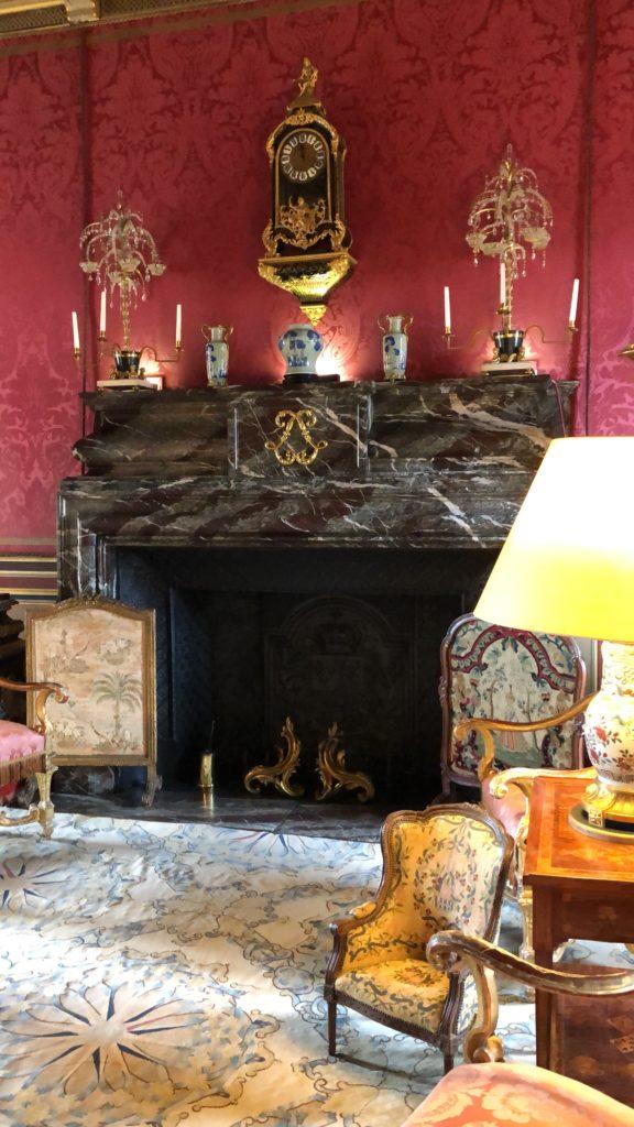 cheminée chateau de maintenon