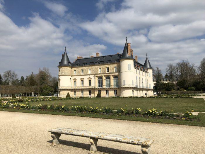 chateau domaine de rambouillet veloscenie