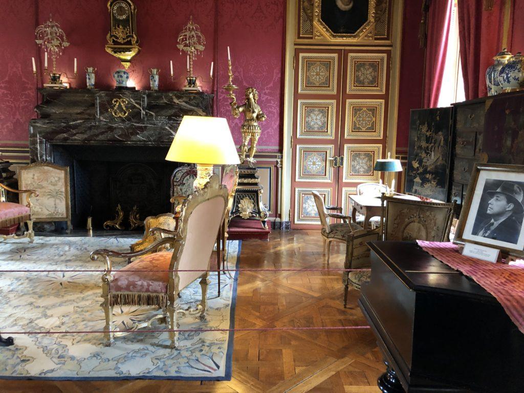 salon chateau de maintenon