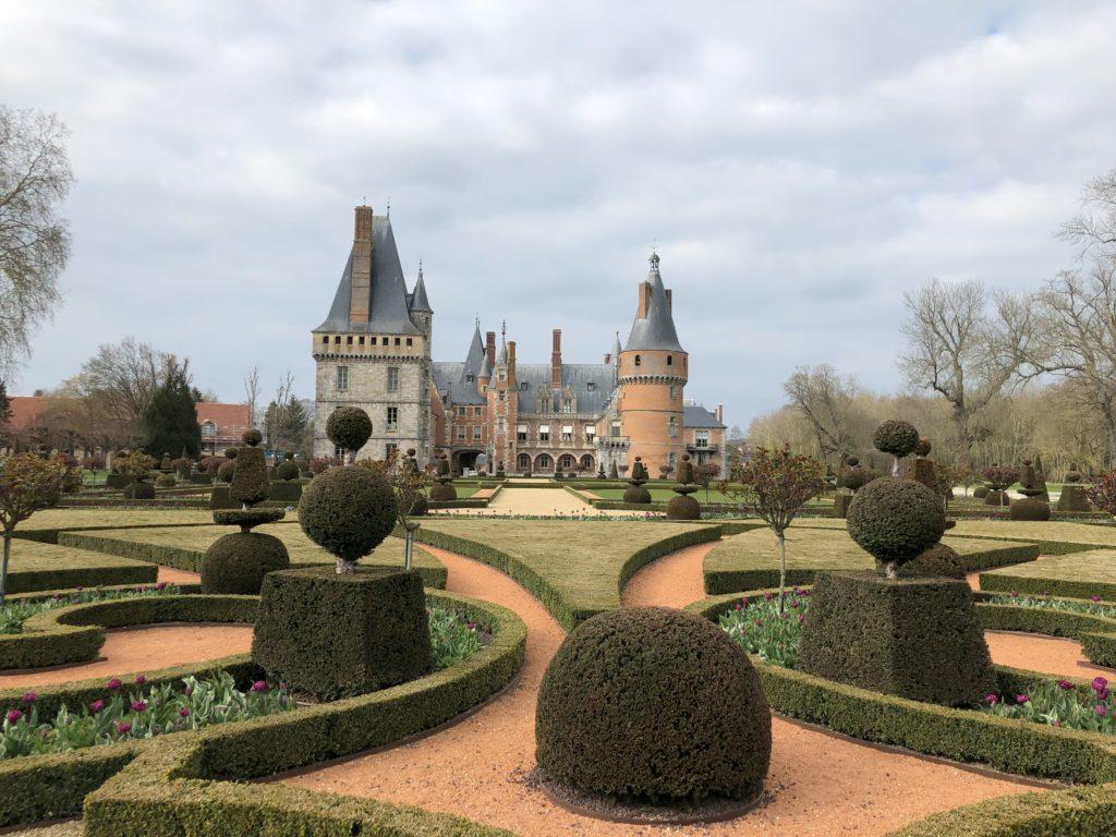 jardin chateau de maintenon