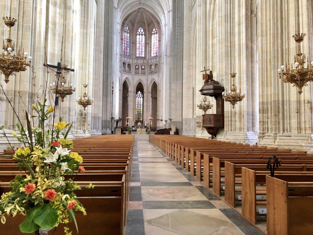 nef cathédrale de nantes