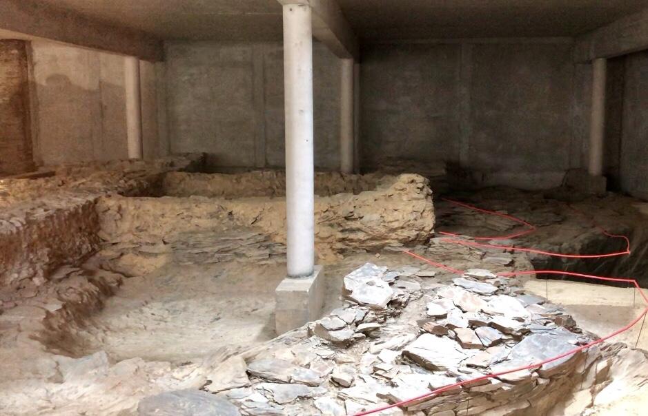 fouilles archéologiques chateau d'angers