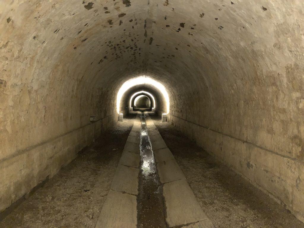 souterrain chateau de brissac quincé