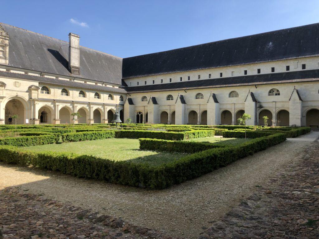 cloitre abbaye de fontevraud