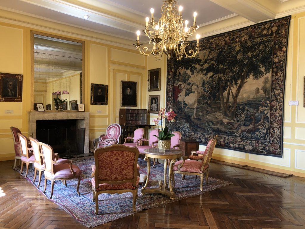 salon chateau de villandry