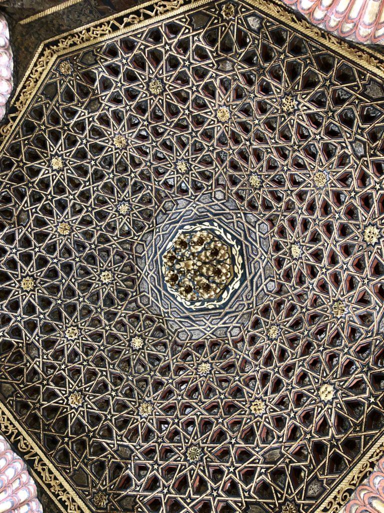 plafond chateau de villandry