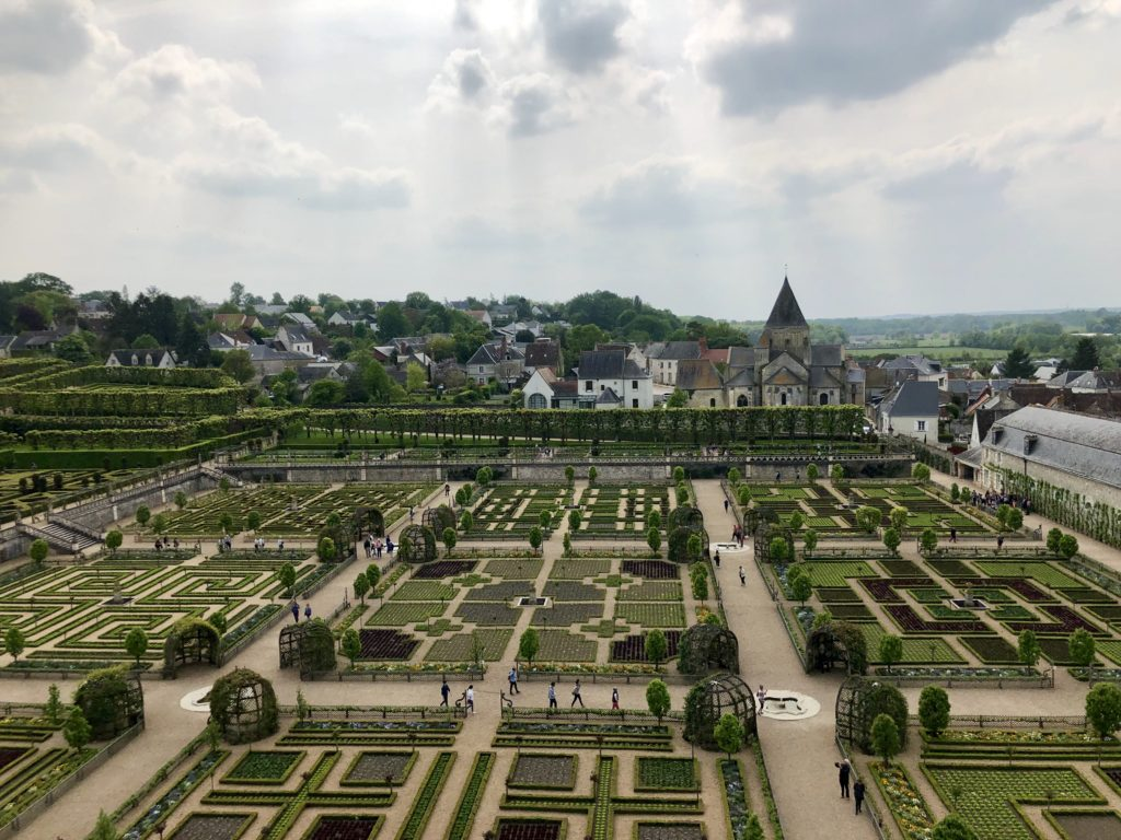 jardins chateau de villandry