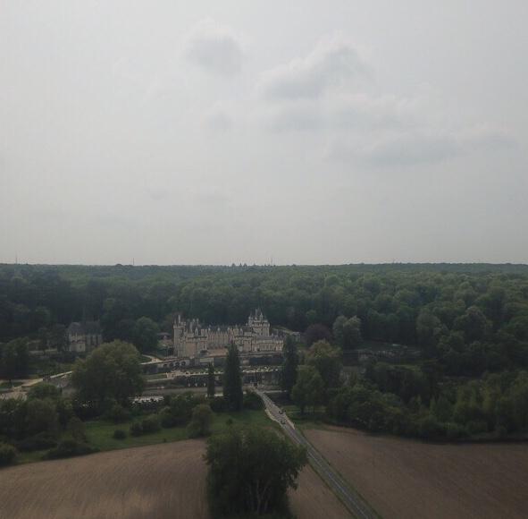 chateau de rigny-ussé drone