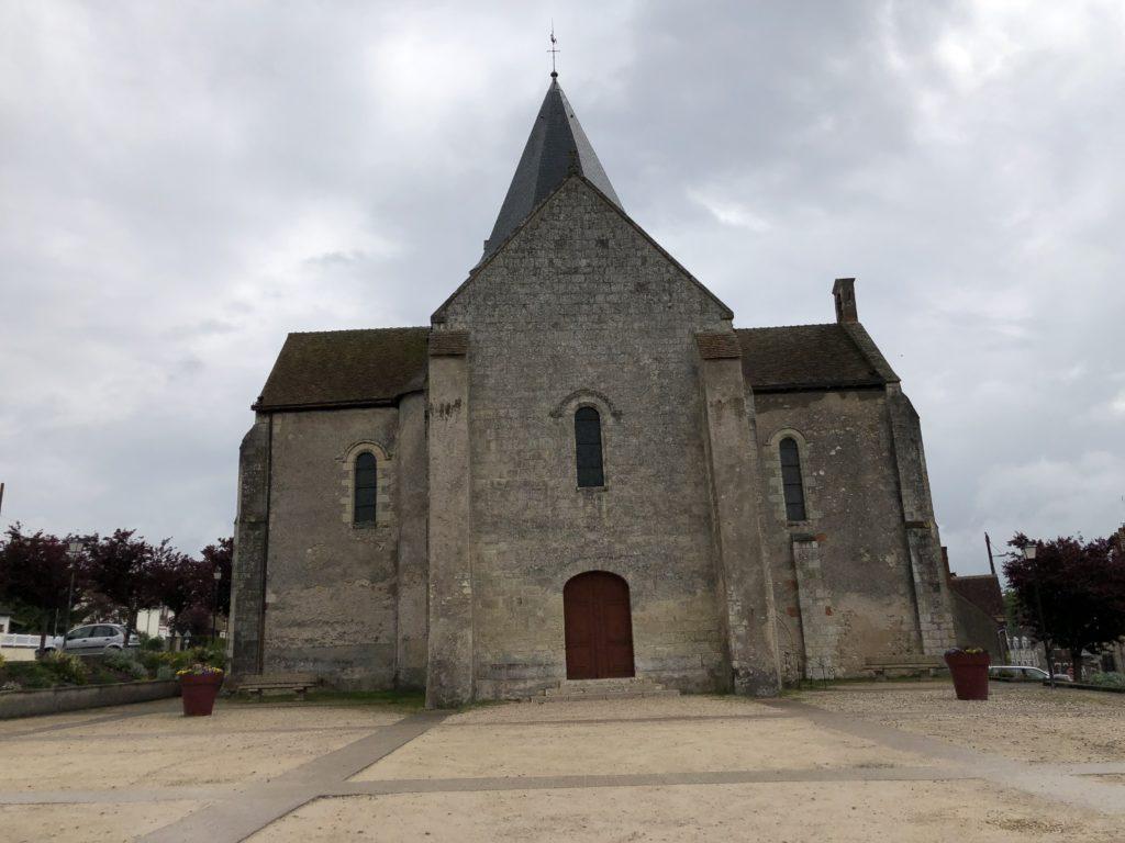 église de villefranche sur cher