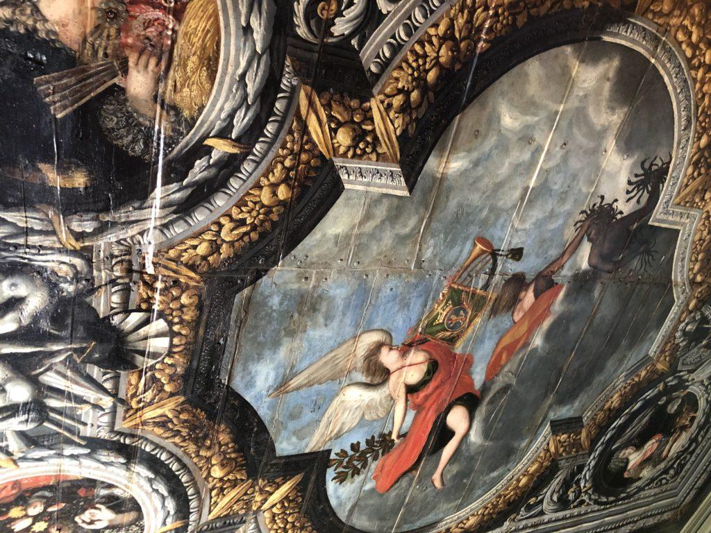 plafond chateau de pesteils