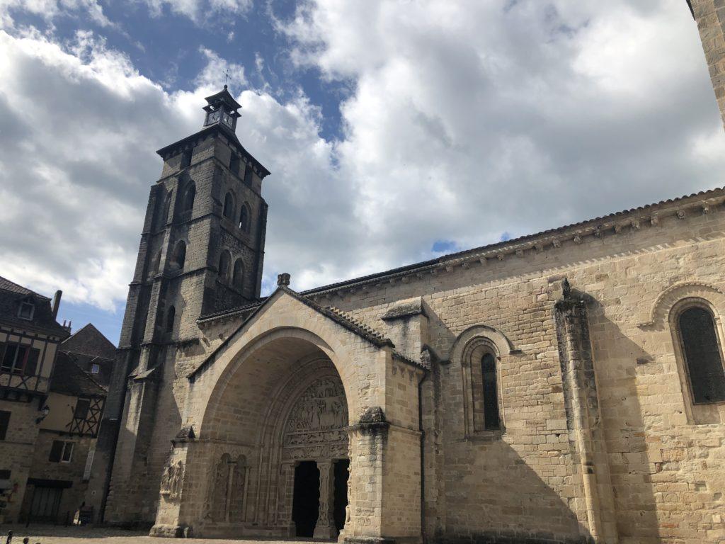 abbaye saint pierre beaulieu sur dordogne