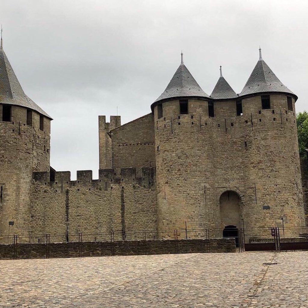 chateau cité médiévale carcassonne