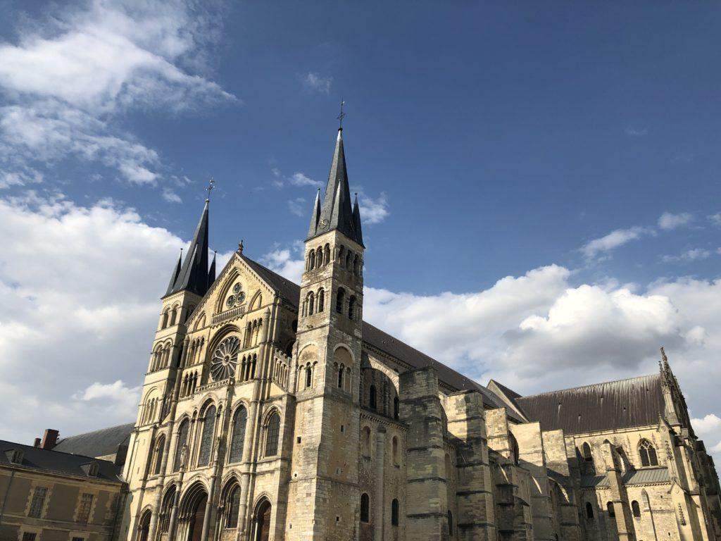 façade cathédrale de reims