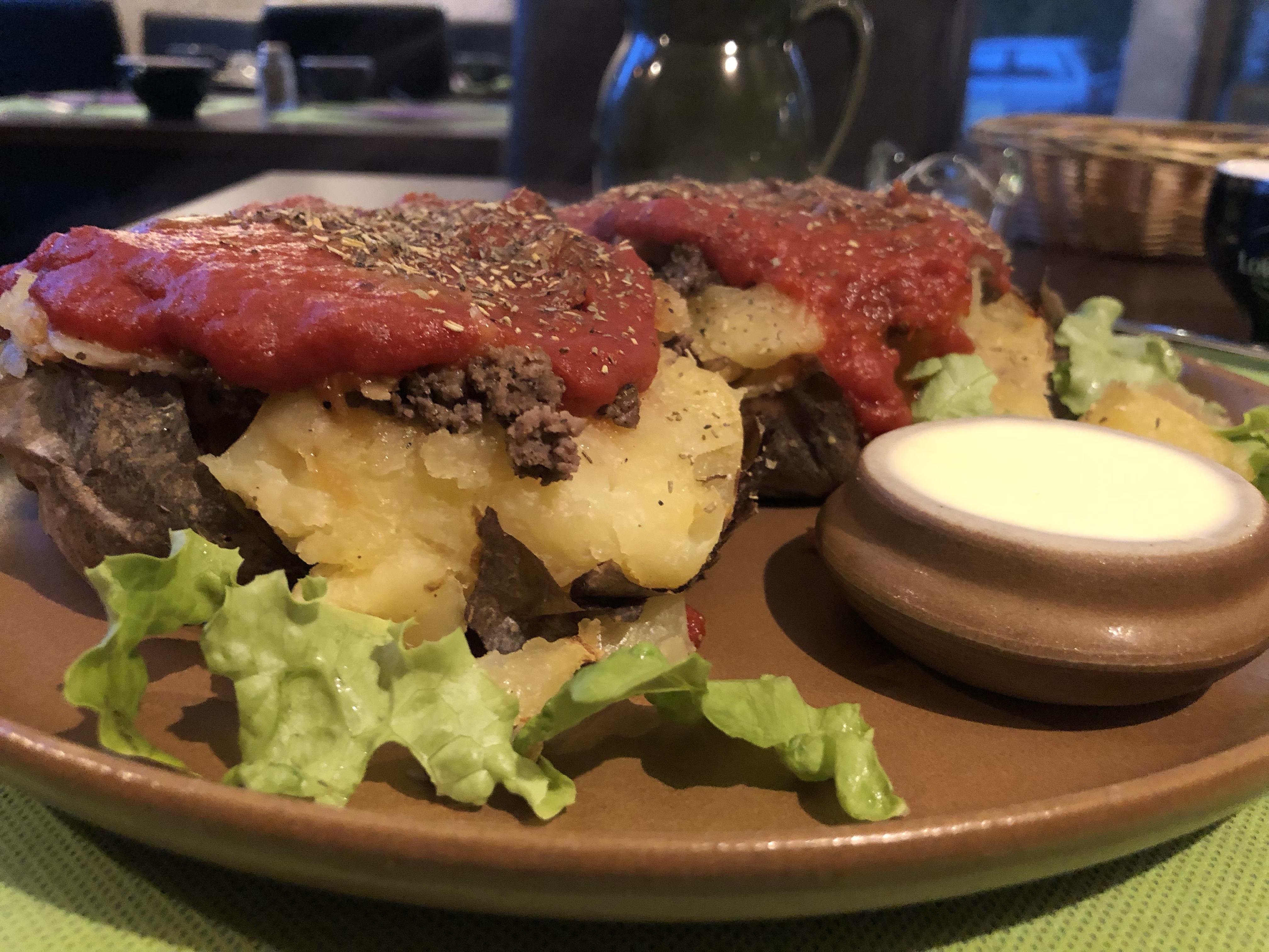 pommes de terre au four vichy