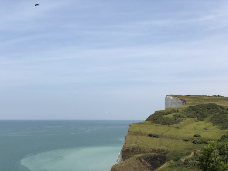 falaise criel sur mer