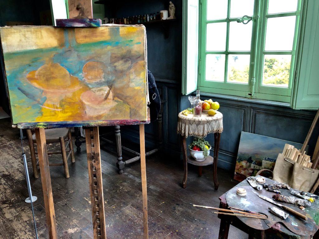 chateau auvers sur oise peinture
