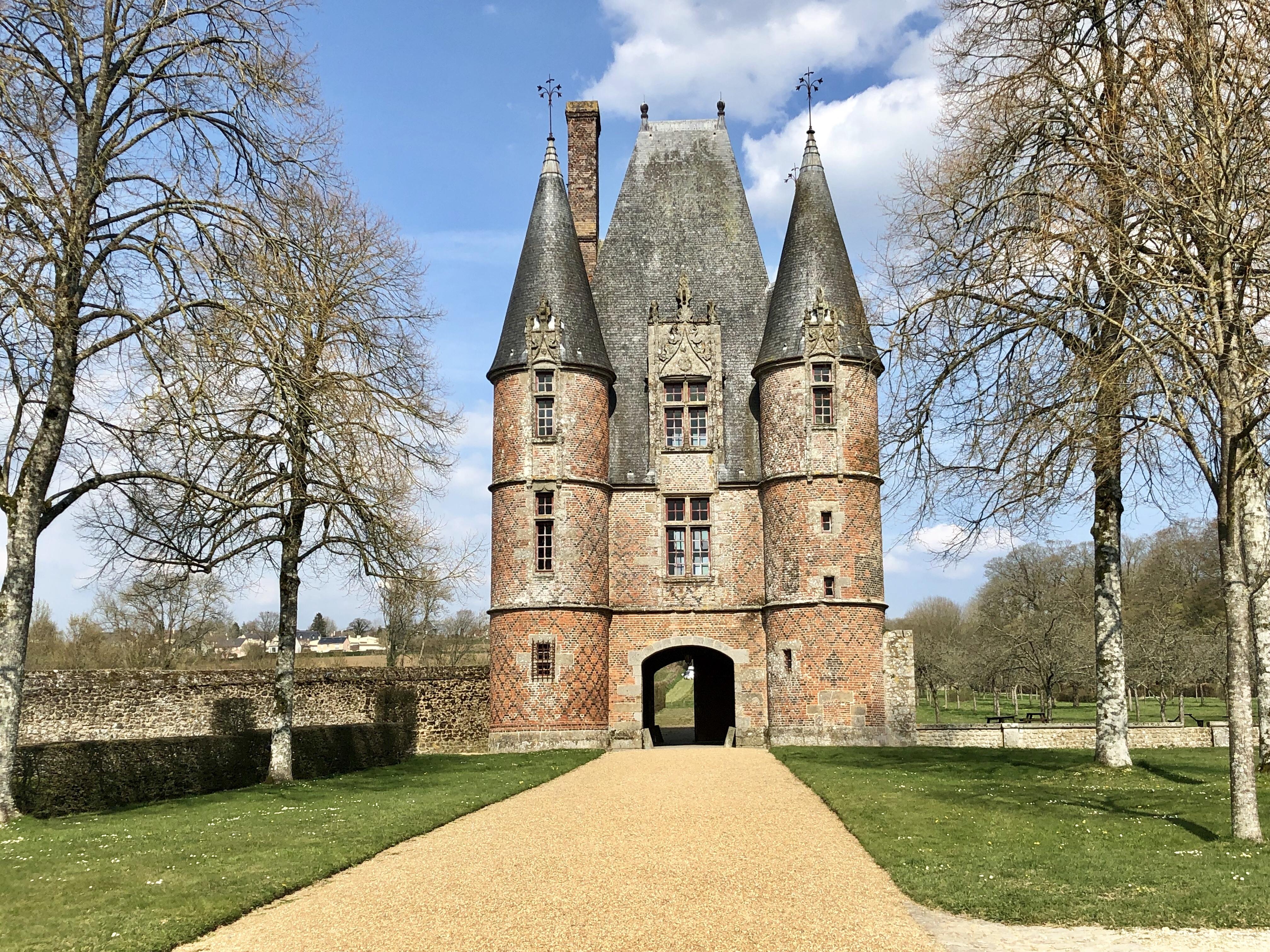 pavillon chateau de carrouges